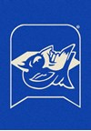 Milliken College Team Spirit (NCAA) Duke 79544 Spirit Rectangle (4000019268) 5'4