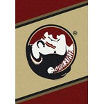 "Milliken College Team Spirit (NCAA) Florida State 74208 Spirit Rectangle (4000019326) 7'8"" x 10'9"" Area Rug"