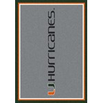 "Milliken College Team Spirit (NCAA) Miami 74386 Spirit Rectangle (4000019115) 3'10"" x 5'4"" Area Rug"
