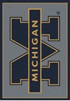 Milliken College Team Spirit (NCAA) Michigan 74238 Spirit Rectangle (4000019451) 2'8