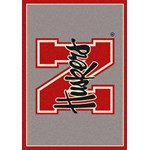 "Milliken College Team Spirit (NCAA) Nebraska 74239 Spirit Rectangle (4000019219) 5'4"" x 7'8"" Area Rug"