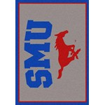 "Milliken College Team Spirit (NCAA) Southern Methodist 79800 Spirit Rectangle (4000019388) 7'8"" x 10'9"" Area Rug"