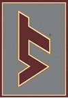 Milliken College Team Spirit (NCAA) Virginia Tech 74159 Spirit Rectangle (4000019192) 5'4