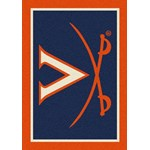 "Milliken College Team Spirit (NCAA-SPT) Virginia 79590 Spirit Rectangle (4000053843) 3'10"" x 5'4"" Area Rug"