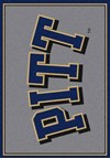 Milliken College Team Spirit (NCAA-SPT) Pittsburgh 00394 Spirit Rectangle (4000052850) 2'8