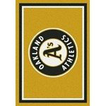 "Milliken MLB Team Spirit (MLB-S) Oakland Athletics 01026 Spirit Rectangle (4000019536) 5'4"" x 7'8"" Area Rug"