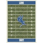 "Milliken NFL Team Home Field (NFL-F) Detroit Lions 01033 Home Field Rectangle (4000019827) 5'4"" x 7'8"" Area Rug"