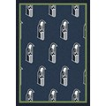 Milliken NFL Team Repeat (NFL-R) Seattle Seahawks 09083 Repeat Rectangle (4000054764) 5