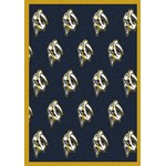 "Milliken NHL Team Repeat (NHL-R) Nashville Predators 01712 Repeat Rectangle (4000020415) 5'4"" x 7'8"" Area Rug"