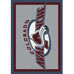 "Milliken NHL Team Spirit (NHL-S) Colorado Avalanche 01071 Spirit Rectangle (4000020338) 5'4"" x 7'8"" Area Rug"