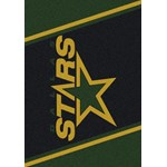 "Milliken NHL Team Spirit (NHL-S) Dallas Stars 01091 Spirit Rectangle (4000020306) 3'10"" x 5'4"" Area Rug"