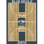 "Milliken College Home Court (NCAA) Duke 01512 Court Rectangle (4000018359) 3'10"" x 5'4"" Area Rug"
