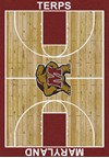 Milliken College Home Court (NCAA) Maryland 01156 Court Rectangle (4000018305) 3'10