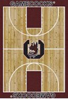 Milliken College Home Court (NCAA) South Carolina 01350 Court Rectangle (4000018414) 5'4