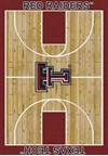 Milliken College Home Court (NCAA) Texas Tech 01440 Court Rectangle (4000018428) 5'4