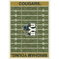 Milliken College Home Field (NCAA) Brigham Young 01048 Home Field Rectangle (4000018685) 10