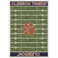 Milliken College Home Field (NCAA) Clemson 01050 Home Field Rectangle (4000018687) 10