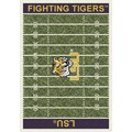 Milliken College Home Field (NCAA) LSU 01152 Home Field Rectangle (4000018703) 10