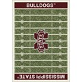 Milliken College Home Field (NCAA) Mississippi State 01188 Home Field Rectangle (4000018711) 10