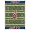Milliken College Home Field (NCAA) Mississippi 01186 Home Field Rectangle (4000018710) 10