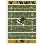 "Milliken College Home Field (NCAA) Purdue 01345 Home Field Rectangle (4000018651) 7'8"" x 10'9"" Area Rug"