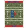 Milliken College Home Field (NCAA) Southern Methodist 01390 Home Field Rectangle (4000018727) 10