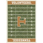 "Milliken College Home Field (NCAA) Tennessee 01400 Home Field Rectangle (4000018730) 10'9"" x 13'2"" Area Rug"