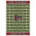 Milliken College Home Field (NCAA) Texas Tech 01440 Home Field Rectangle (4000018734) 10