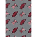 Milliken College Repeating (NCAA) Arkansas 01020 Repeat Rectangle (4000018969) 10