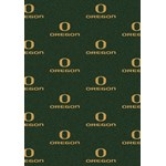 "Milliken College Repeating (NCAA) Oregon 01292 Repeat Rectangle (4000018863) 5'4"" x 7'8"" Area Rug"