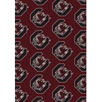 "Milliken College Repeating (NCAA) South Carolina 01350 Repeat Rectangle (4000018940) 7'8"" x 10'9"" Area Rug"