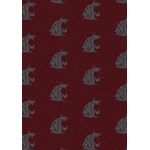 "Milliken College Repeating (NCAA) Washington State 01466 Repeat Rectangle (4000018956) 7'8"" x 10'9"" Area Rug"