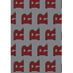"Milliken College Repeating (NCAA-RPT) Rutgers 01347 Repeat Rectangle (4000054903) 3'10"" x 5'4"" Area Rug"