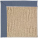 Capel Rugs Creative Concepts Cane Wicker - Canvas Sapphire Blue (487) Octagon 4' x 4' Area Rug
