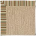 Capel Rugs Creative Concepts Cane Wicker - Dorsett Autumn (714) Octagon 4
