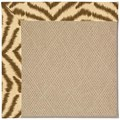 Capel Rugs Creative Concepts Cane Wicker - Couture King Chestnut (756) Octagon 4