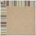 Capel Rugs Creative Concepts Cane Wicker - Brannon Whisper (422) Octagon 6