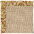 Capel Rugs Creative Concepts Cane Wicker - Cayo Vista Sand (710) Octagon 6