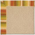 Capel Rugs Creative Concepts Cane Wicker - Kalani Samba (224) Octagon 8