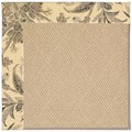 Capel Rugs Creative Concepts Cane Wicker - Cayo Vista Graphic (315) Octagon 8