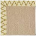 Capel Rugs Creative Concepts Cane Wicker - Bamboo Rattan (706) Octagon 8