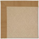 Capel Rugs Creative Concepts Cane Wicker - Dupione Caramel (150) Octagon 10' x 10' Area Rug