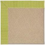 Capel Rugs Creative Concepts Cane Wicker - Vierra Kiwi (228) Octagon 10' x 10' Area Rug