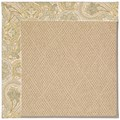 Capel Rugs Creative Concepts Cane Wicker - Paddock Shawl Mineral (310) Octagon 10