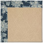Capel Rugs Creative Concepts Cane Wicker - Bandana Indigo (465) Octagon 10' x 10' Area Rug