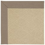 Capel Rugs Creative Concepts Cane Wicker - Shadow Wren (743) Octagon 10' x 10' Area Rug