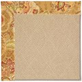 Capel Rugs Creative Concepts Cane Wicker - Tuscan Vine Adobe (830) Octagon 10