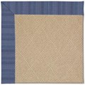 Capel Rugs Creative Concepts Cane Wicker - Vierra Navy (455) Octagon 12
