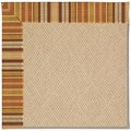 Capel Rugs Creative Concepts Cane Wicker - Vera Cruz Samba (735) Octagon 12