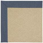 "Capel Rugs Creative Concepts Cane Wicker - Heritage Denim (447) Runner 2' 6"" x 8' Area Rug"